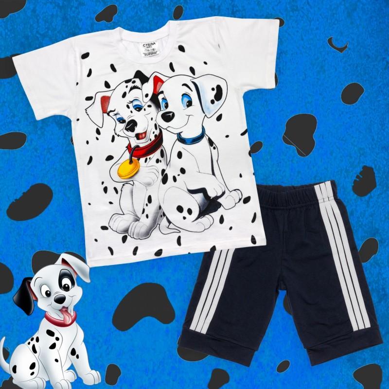 Set 2 Tlg. T-Shirt und Bermuda